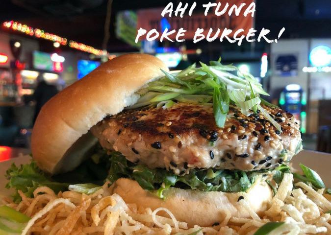 The Ahi Tuna Poke Burger