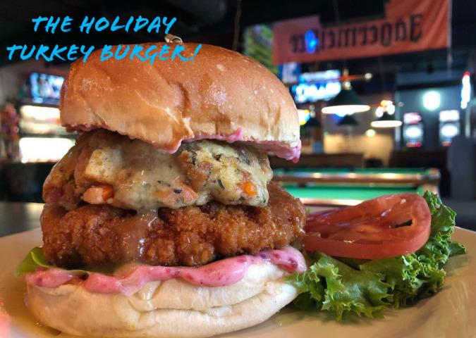 The Holiday Turkey Burger